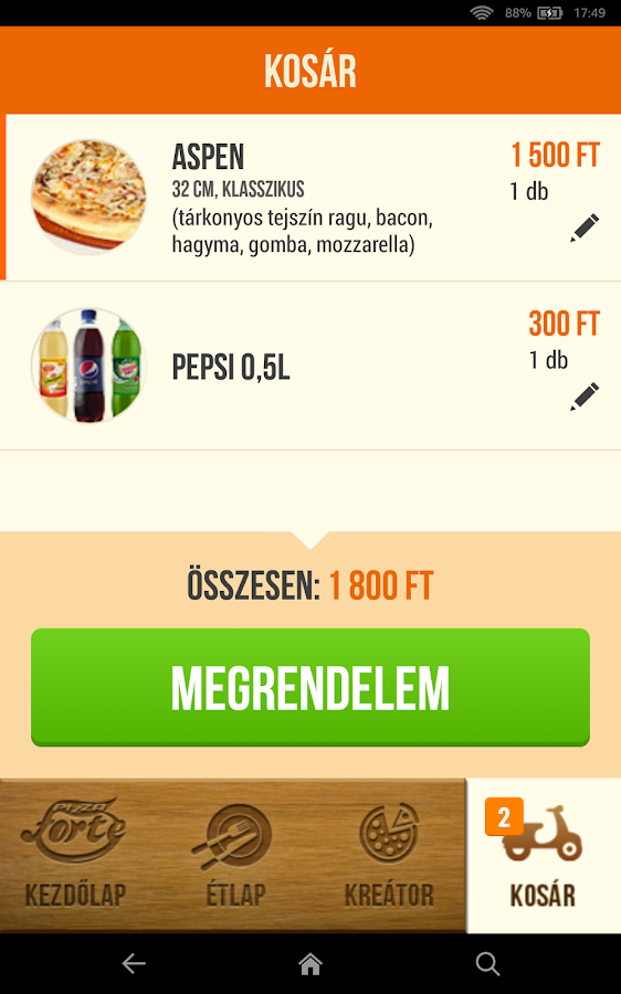 Pizza Forte- screenshot