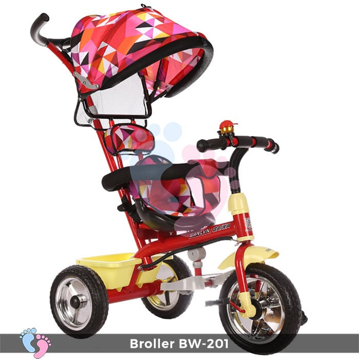 Xe đạp đẩy 3 bánh Broller XD3-201 4