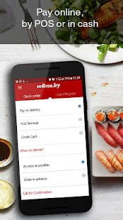 Menu.by — restaurant food delivery- screenshot thumbnail