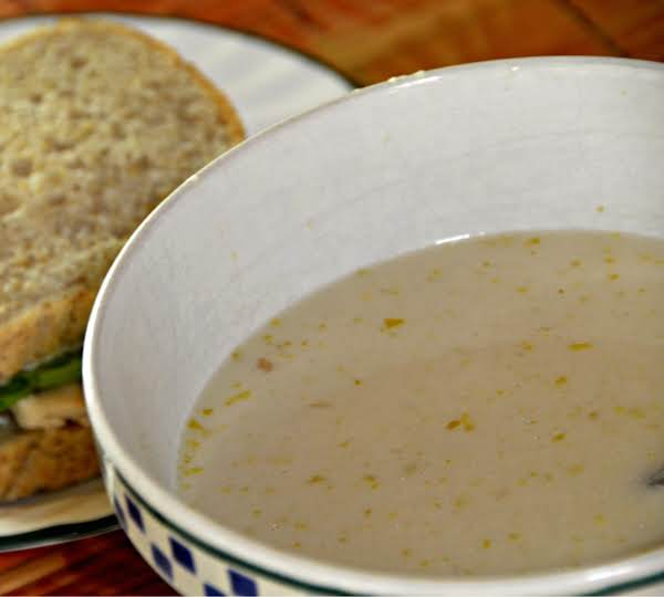 Cream Of Celery Soup With Madeira Wine