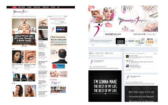 BeautyGlimpse.com - Beauty Tips