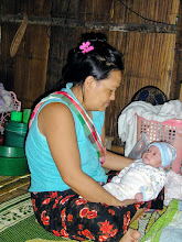 Photo: Lahu mother and Baby