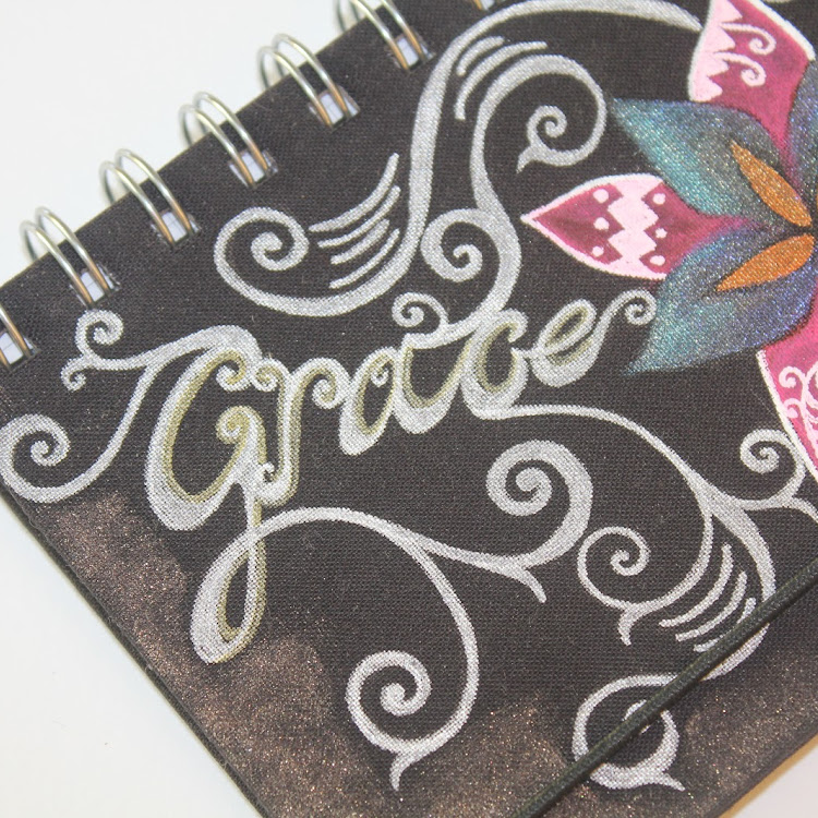 Grace Inspiration - A5 notebook