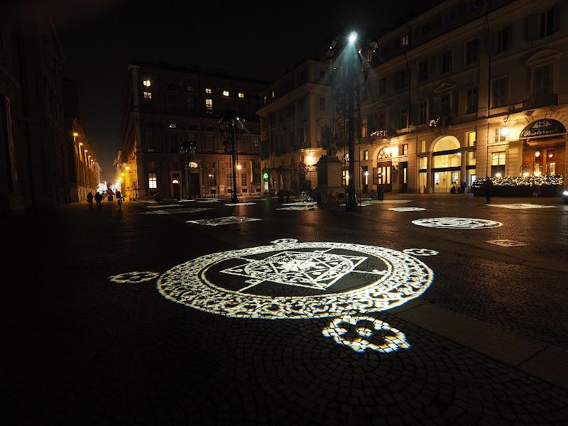 piazza Carignano a Torino di smpaint