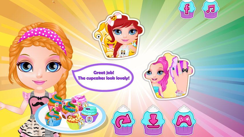 android Baby Pony Cupcakes Screenshot 8