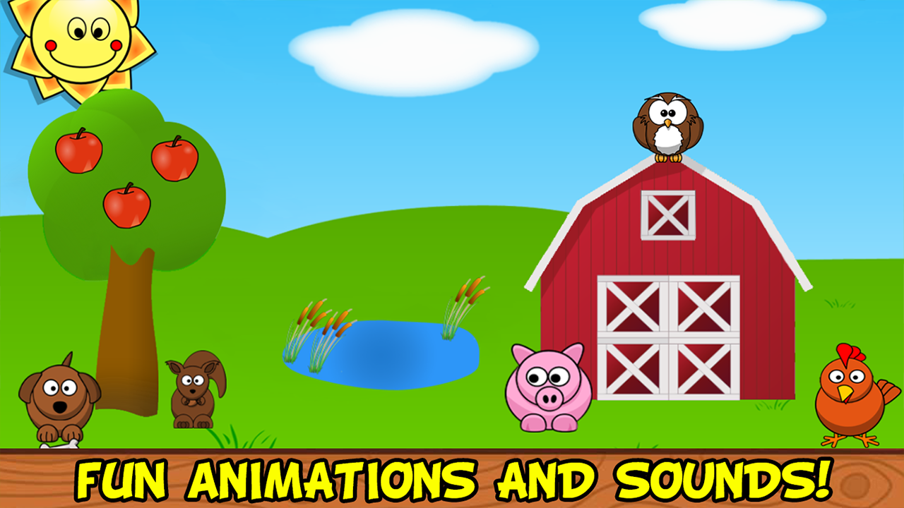 Barnyard Games For Kids- screenshot