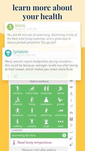 Ovia Fertility: Ovulation & Cycle Tracker 2.5.4 screenshots 4