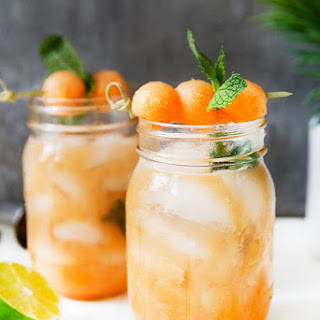 Cantaloupe Ginger Cocktail