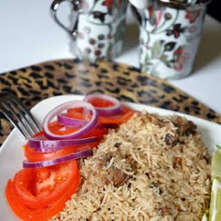 Kenyan Chicken Pilaf.
