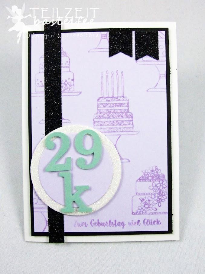 Stampin' Up! - Inkspire_me Sketch Challenge Color Challenge, birthday, Geburtstag, Kuchen ist die Antwort, Piece of Cake, Banners