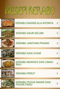 Aneka Kerabu Dan Salad 1.4 Mod APK (Unlimited) 3