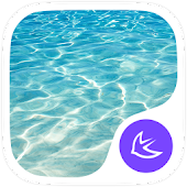 Pure Water-APUS Launcher theme