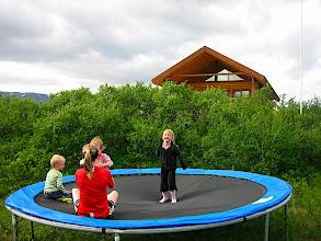 Photo: Rétt við bústaðinn
