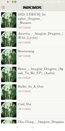 Imagine Dragons Full Album - All Songs screenshot 1