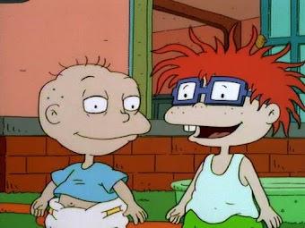Chuckie's New Shirt/Cavebabies
