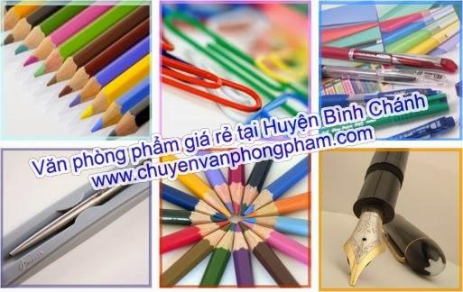 văn phòng phẩm giá rẻ huyện Bình Chánh