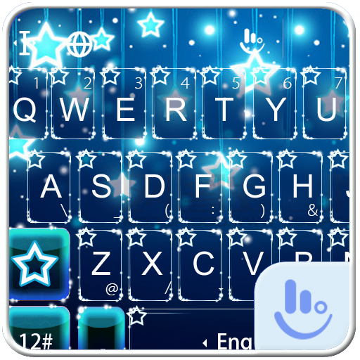Sparkling Star Keyboard Theme Android APK Download Free By Powerful Phone