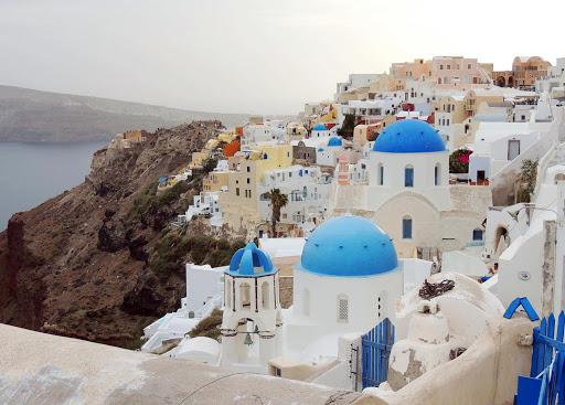 santorini-buildings.jpg - Santorini with its classic Cycladic colors.