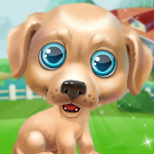 Puppy Pet Salon - Cute Puppy Daycare Android APK Download Free By Supergirl Game Studio