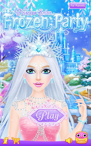Princess Salon: Frozen Party 1.1.5 com.libii.frozenparty apkmod.id 1
