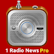 1 Radio News Pro: More Features and Shows, No Ads