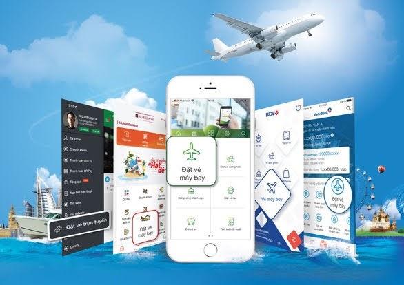 Xu hướng đặt vé máy bay trên ứng dụng di động ngân hàng