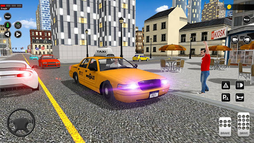 City Taxi Driving simulator: online Cab Games 2020 1.42 screenshots 7
