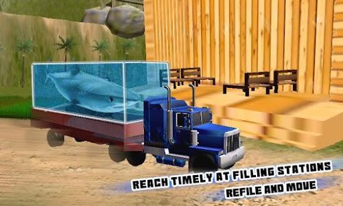 Transport Truck Shark Aquarium screenshot 2