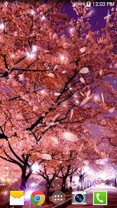 Sakura Live Wallpaper screenshot 8