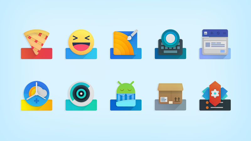 ELEV8 Icon Pack Screenshot 2