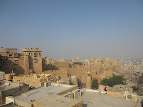 Photo: view from a roof top cafe, jaisalmer