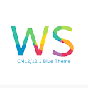 CM12/12.1 WS Blue Theme APK Cracked Download
