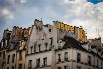 Photo: Rooftop Graffiti