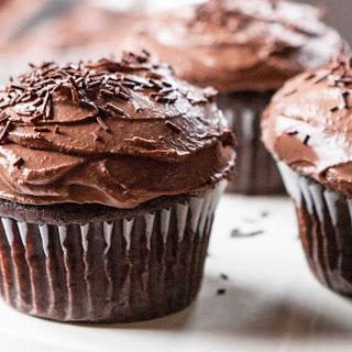 Gluten-Free Chocolate Banana Cupcakes.