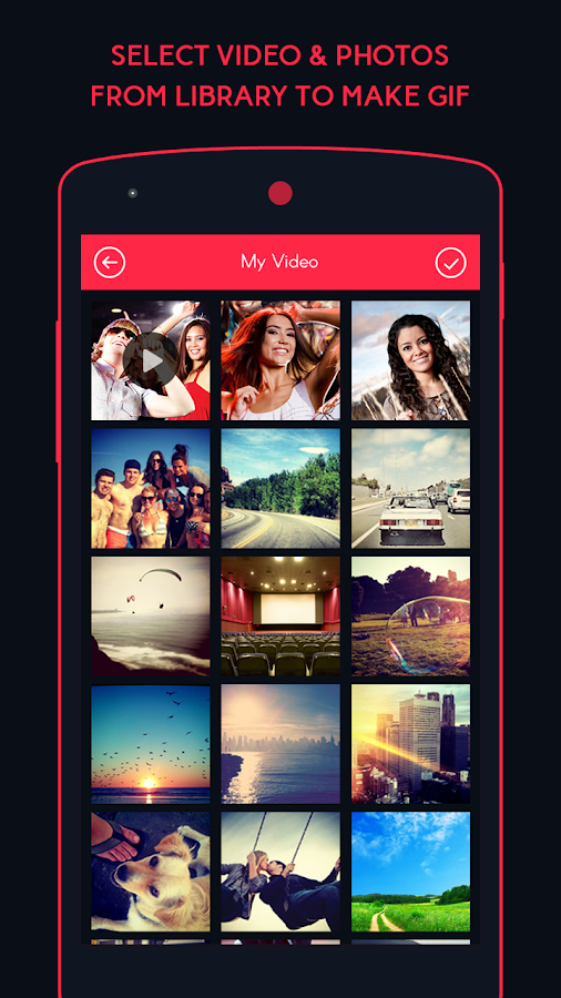 Gif Maker-Video & Photo to GIF- screenshot