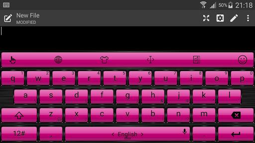 키보드 테마 PinkFrame|玩個人化App免費|玩APPs
