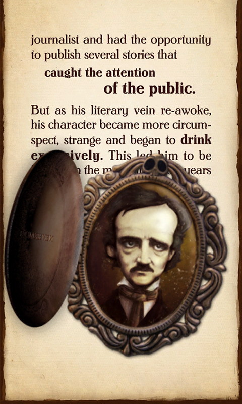 iPoe 1 - Edgar Allan Poe Tales.- screenshot