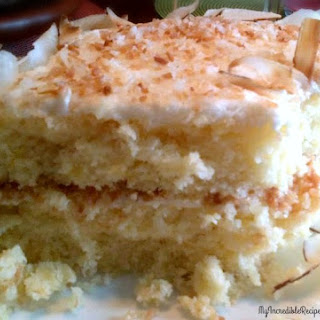 Pineapple-Coconut Cake! Recipe