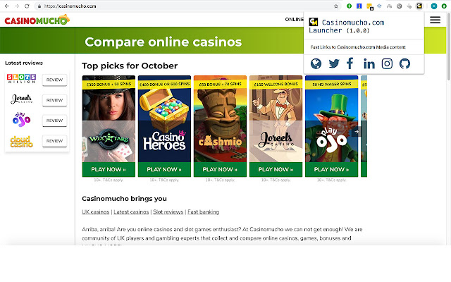 Casinomucho Launcher