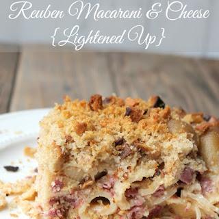 Reuben Macaroni and Cheese {Lightened Up}.