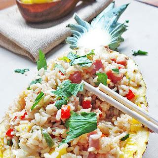 Hawaiian Pineapple Fried Rice Recipes.