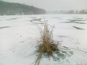 Photo: Jelöljük meg a léket rendesen, ha hó esik akkor is látszódjon.