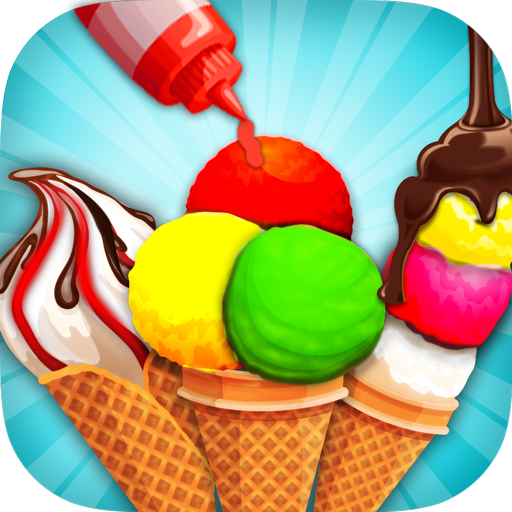 Rainbow Ice Cream Cone Cooking (game)