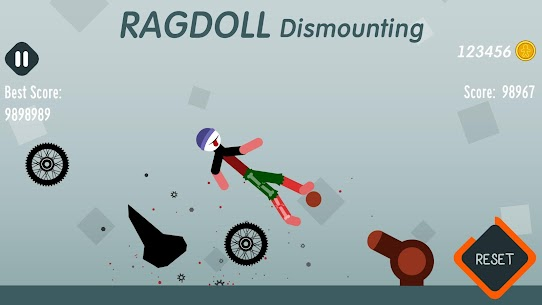 Ragdoll Dismounting Apk + MOD (Coins/Unlocked) for Android 5