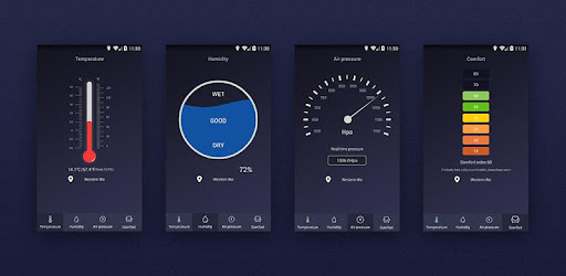 Room Temperature Thermometer App For Android