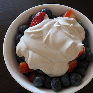 Berries and (Raw) Whipped Cream