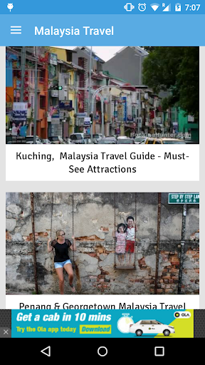Travel Attractions Malaysia