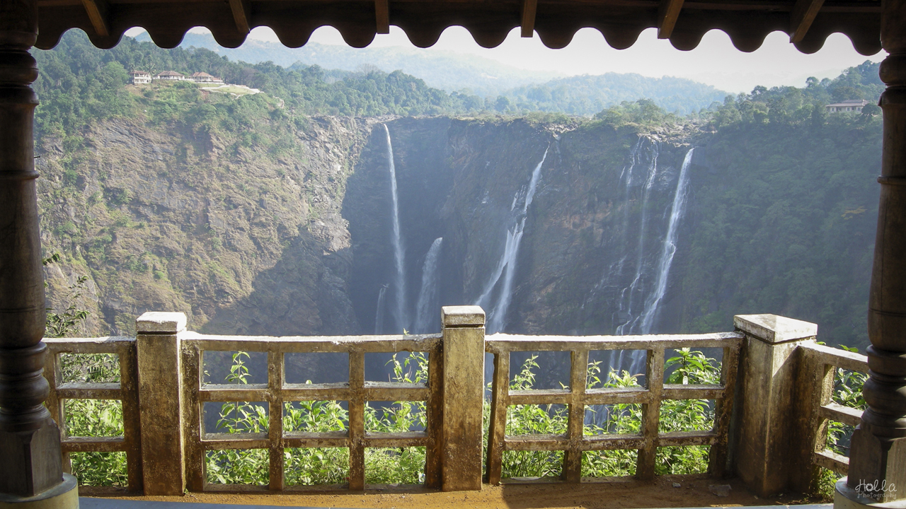 adhvaga,jog falls