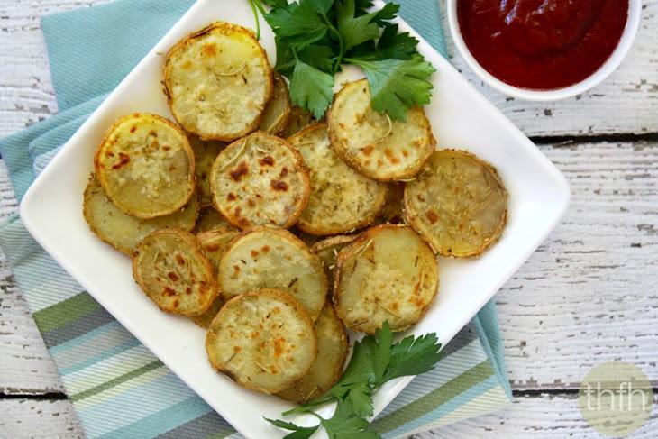 Rosemary and Garlic Sweet Potato Medallions (Vegan, Gluten-Free, Dairy-Free, Paleo-Friendly) Recipe