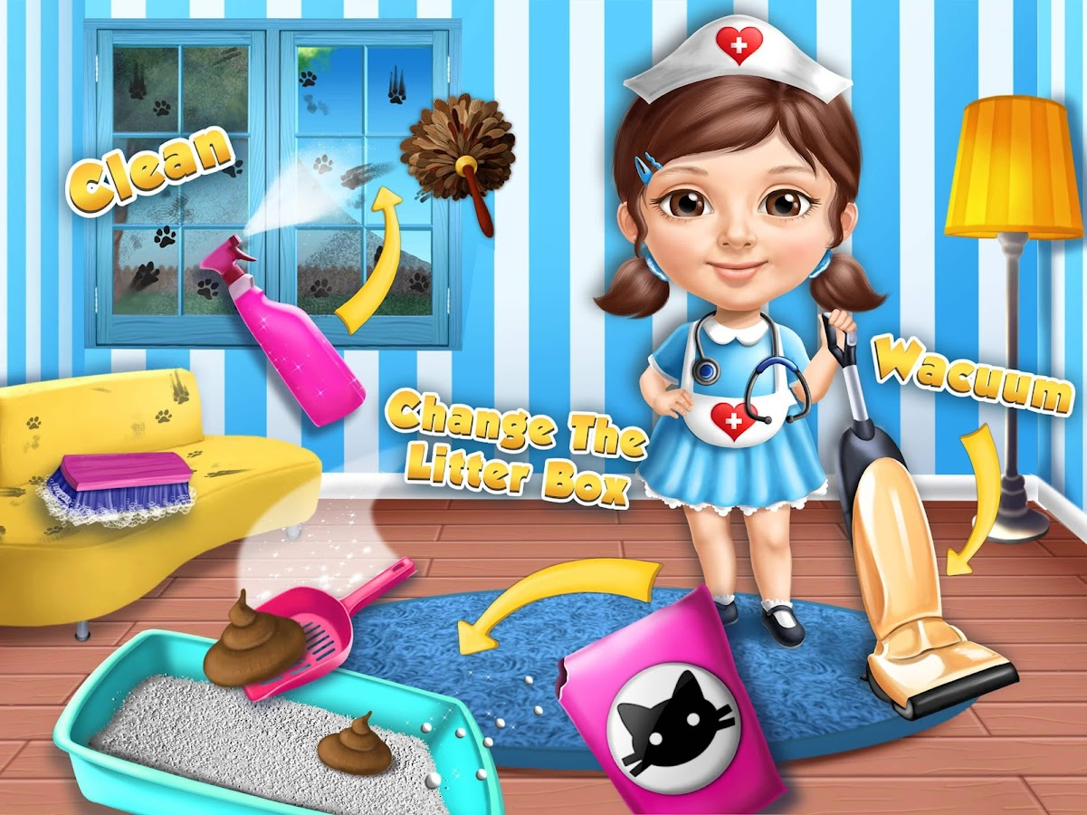 Sweet Baby Girl Cat Shelter- screenshot